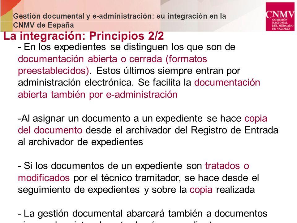 La integración: Principios 2/2