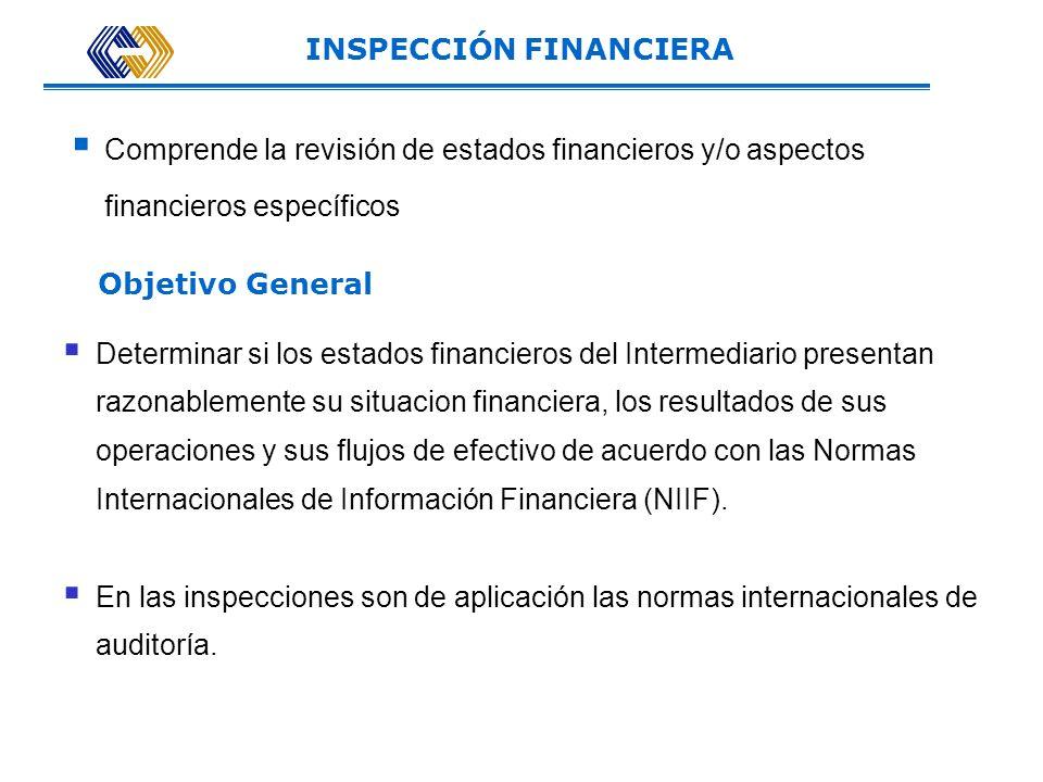 INSPECCIÓN FINANCIERA