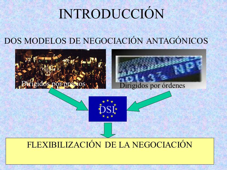 FLEXIBILIZACIÓN DE LA NEGOCIACIÓN