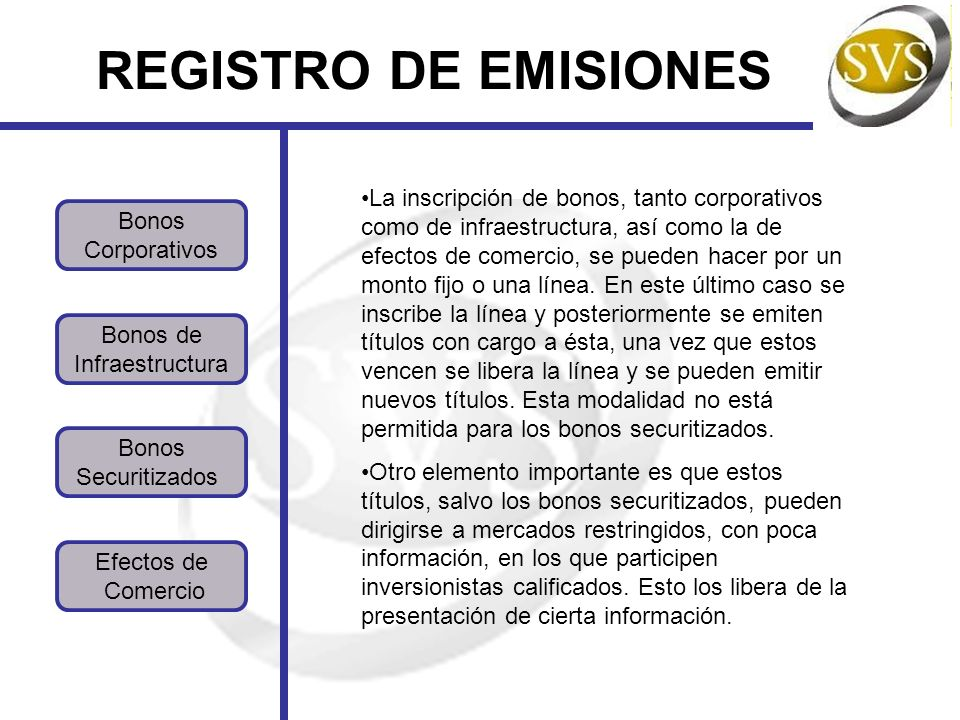 REGISTRO DE EMISIONES