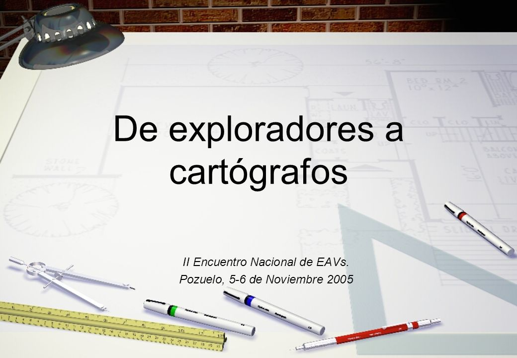 De exploradores a cartógrafos