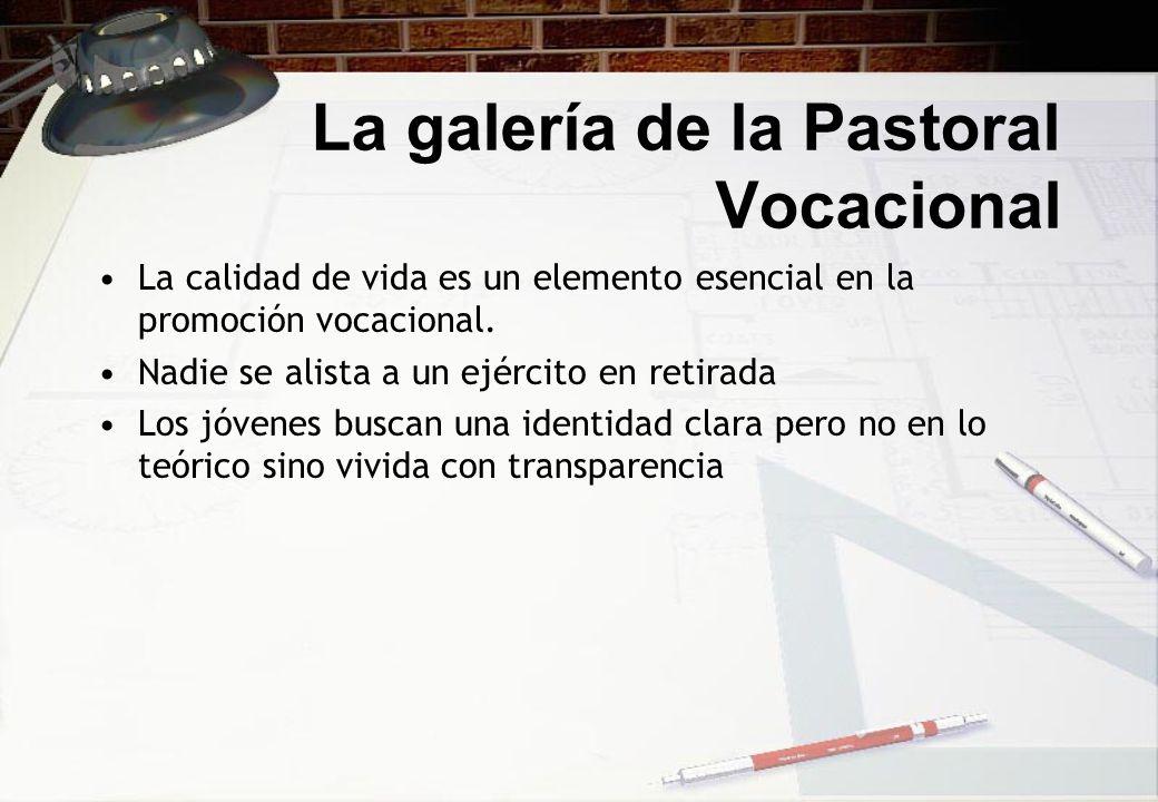 La galería de la Pastoral Vocacional