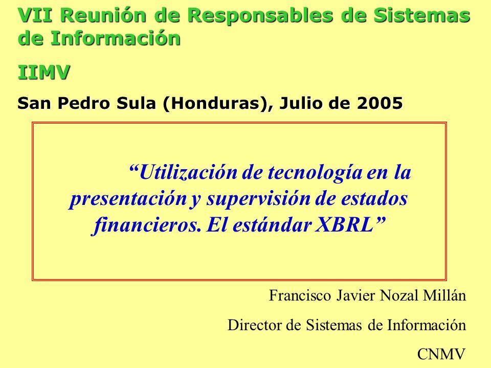 VII Reunión de Responsables de Sistemas de Información