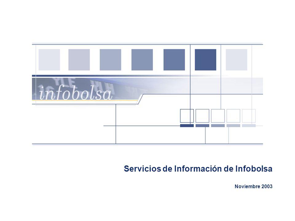 Servicios de Información de Infobolsa Noviembre 2003