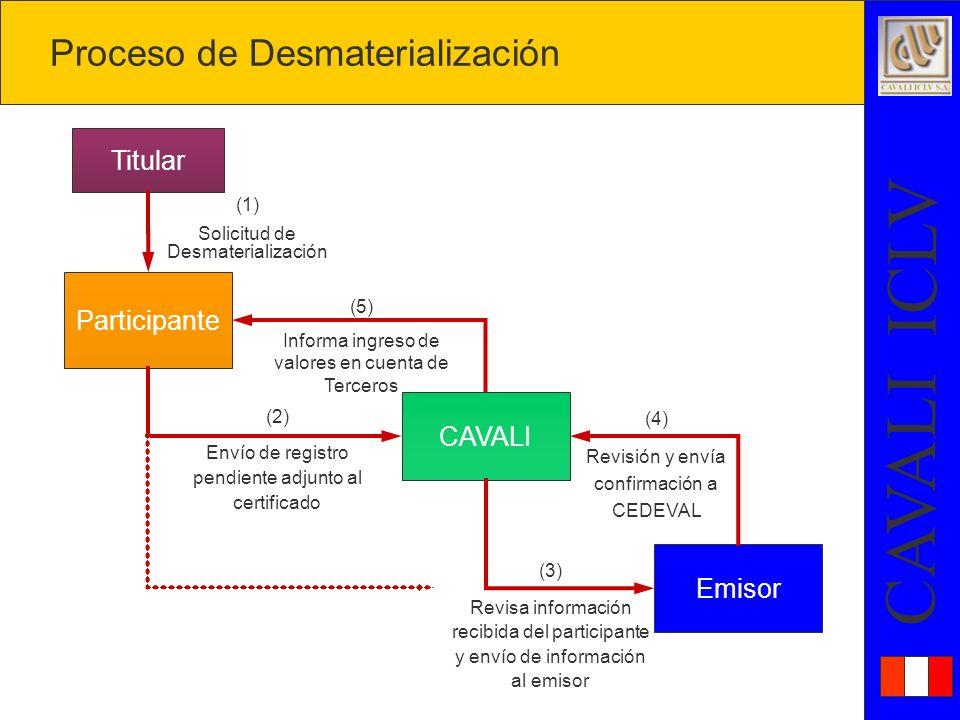 Proceso de Desmaterialización