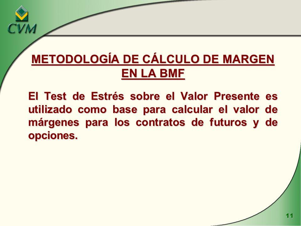 METODOLOGÍA DE CÁLCULO DE MARGEN EN LA BMF
