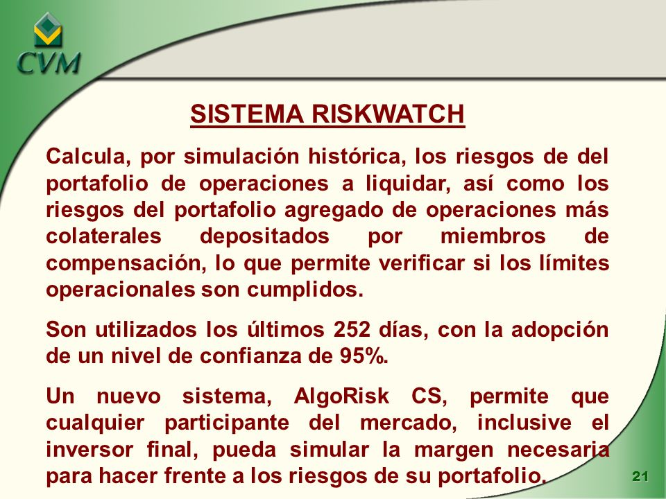 SISTEMA RISKWATCH
