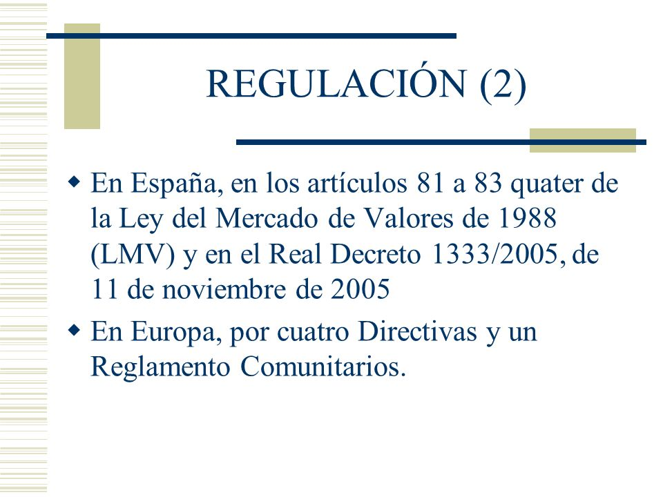 REGULACIÓN (2)