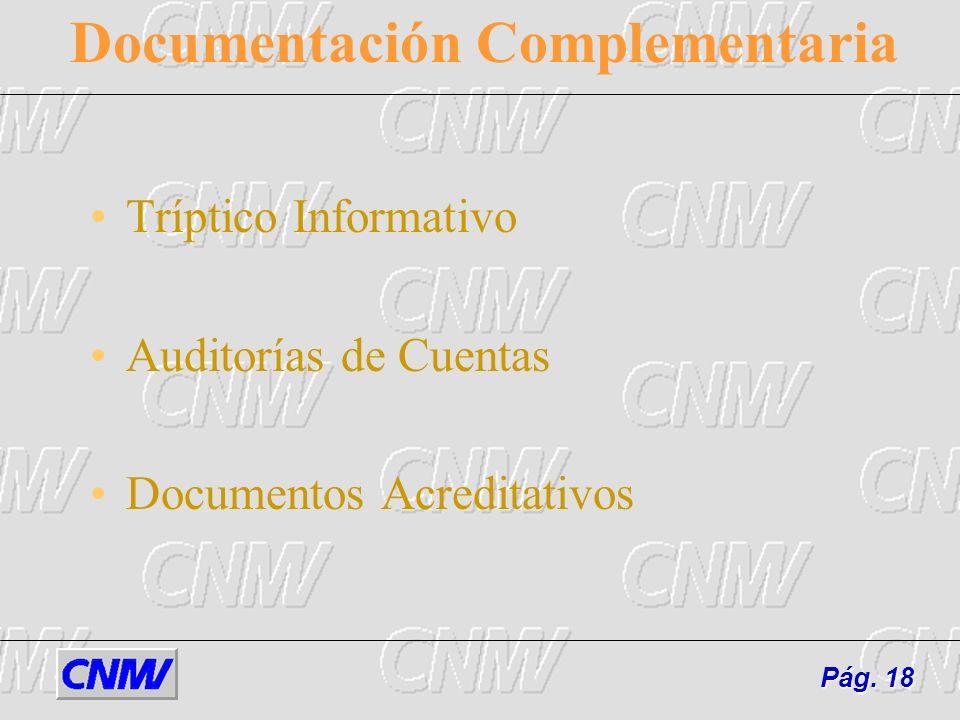 Documentación Complementaria