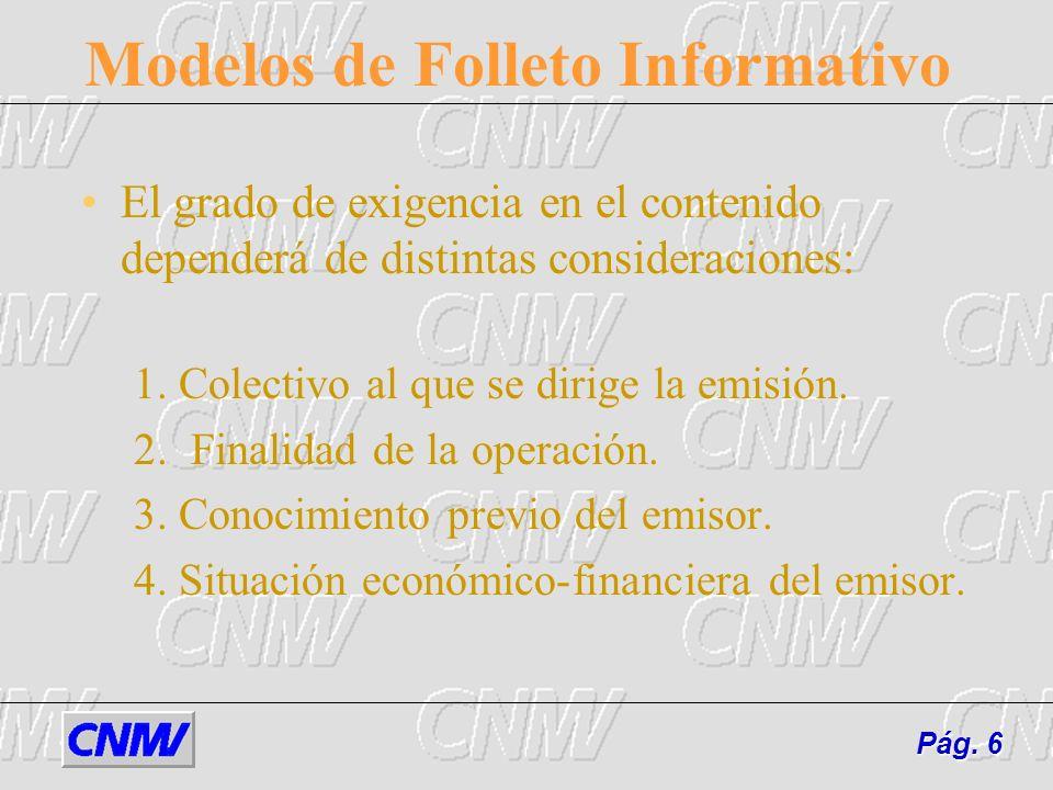 Modelos de Folleto Informativo