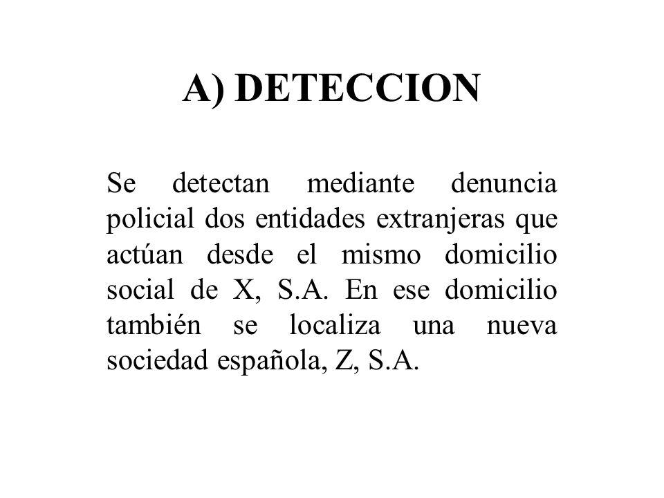 A) DETECCION