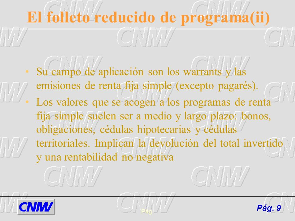 El folleto reducido de programa(ii)