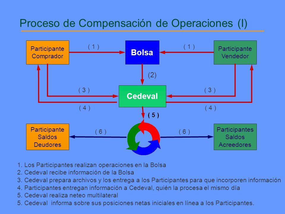Proceso de Compensación de Operaciones (I)