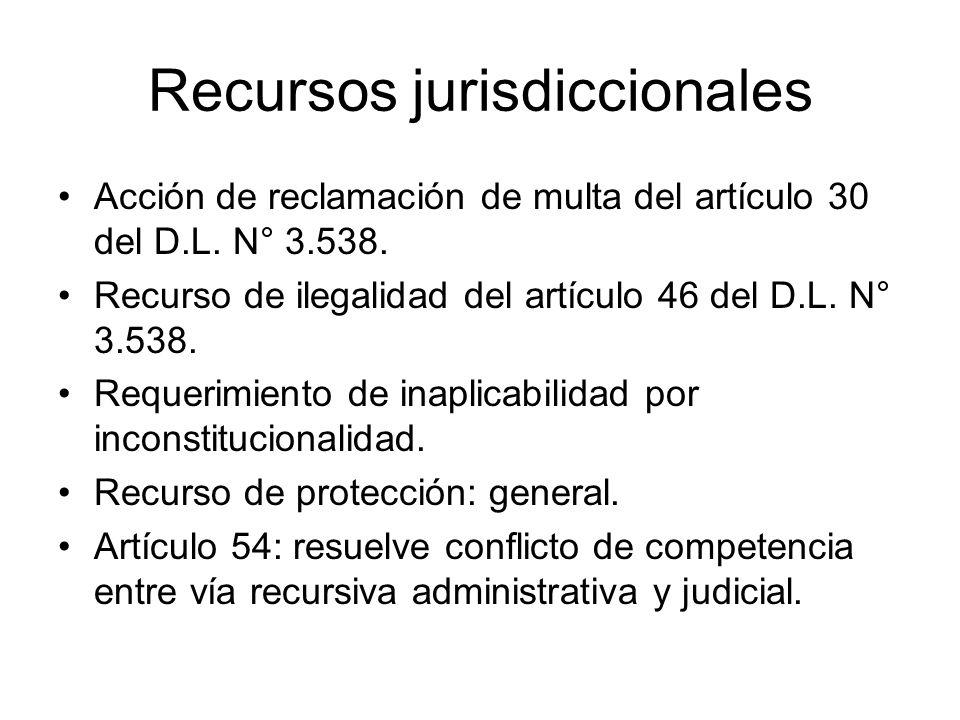 Recursos jurisdiccionales