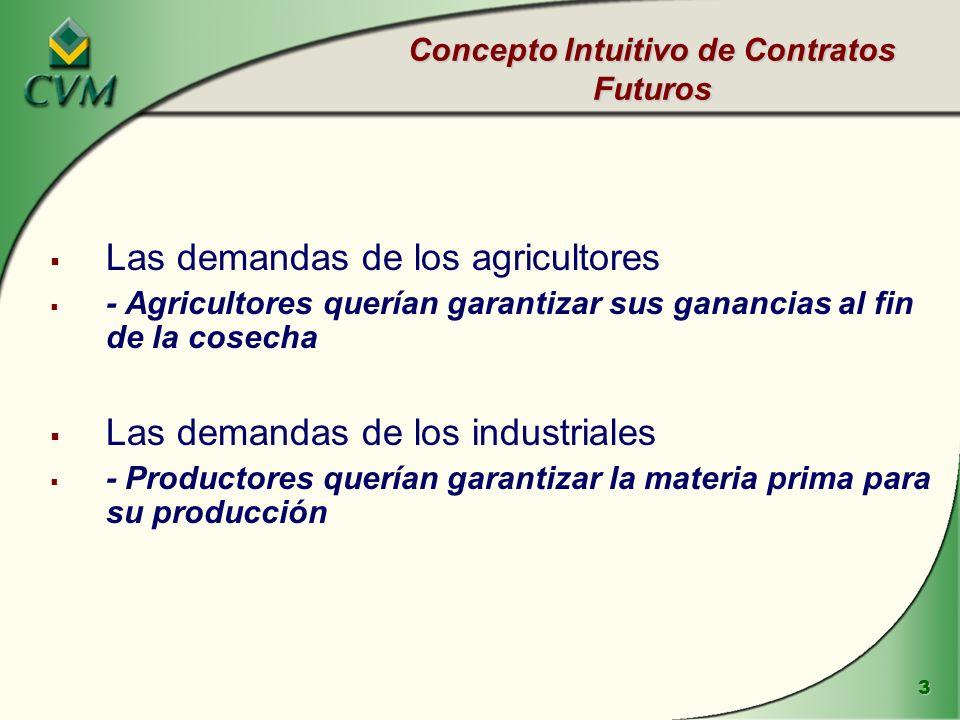 Concepto Intuitivo de Contratos Futuros