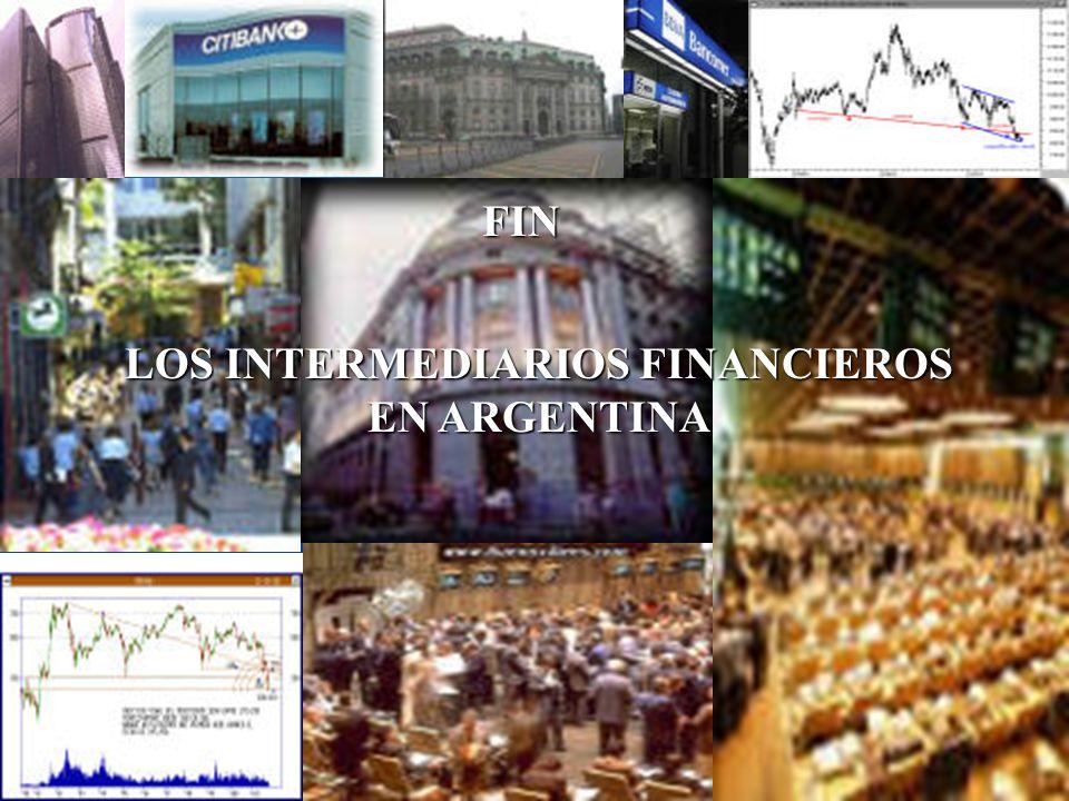 LOS INTERMEDIARIOS FINANCIEROS EN ARGENTINA