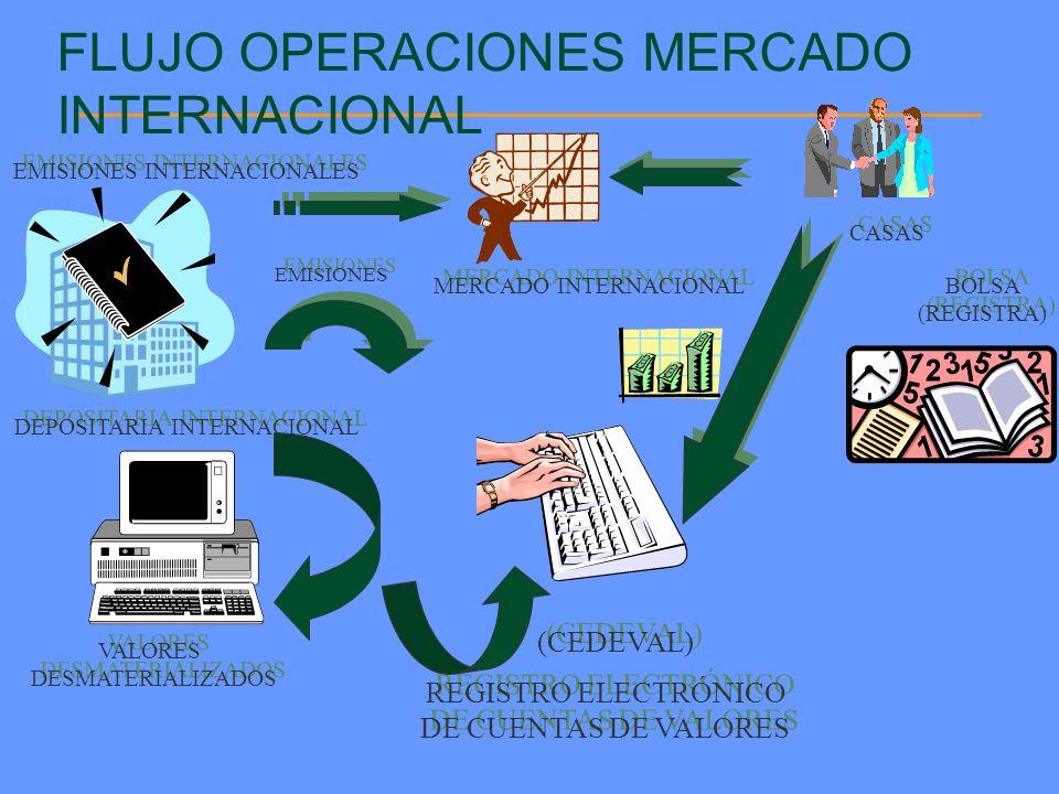 FLUJO OPERACIONES MERCADO INTERNACIONAL