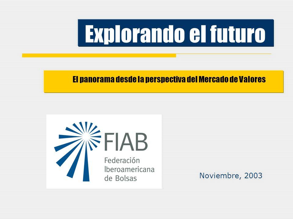 Explorando el futuro El panorama desde la perspectiva del Mercado de Valores