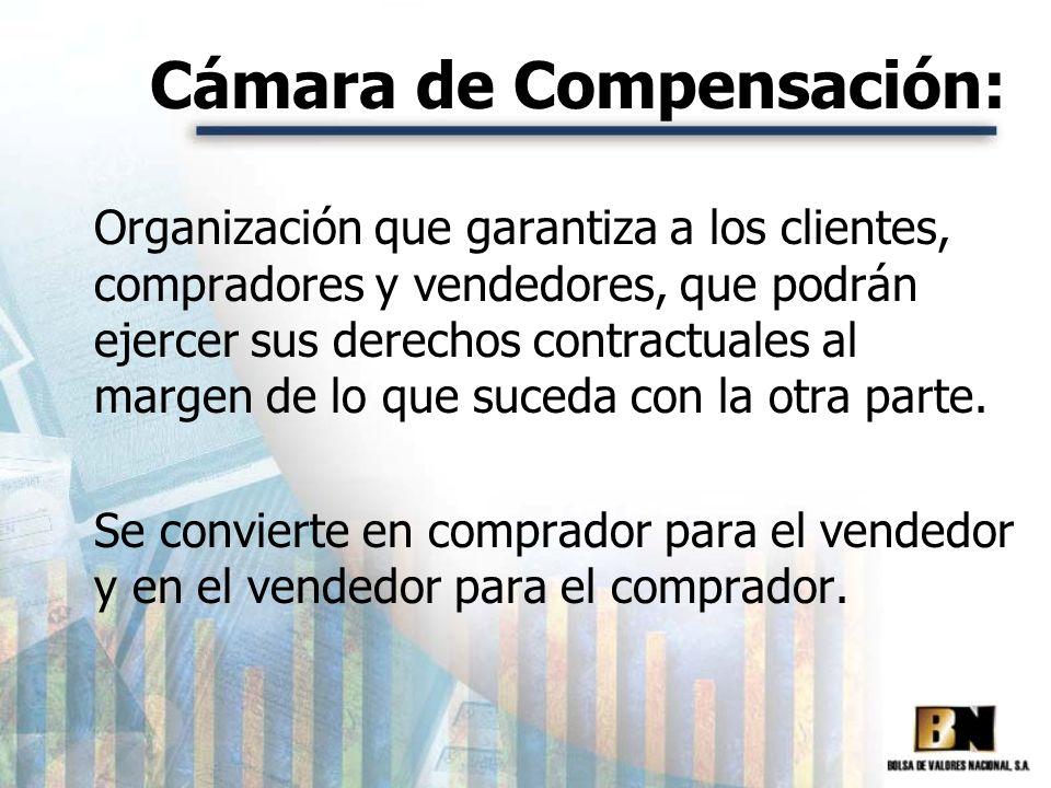 Cámara de Compensación: