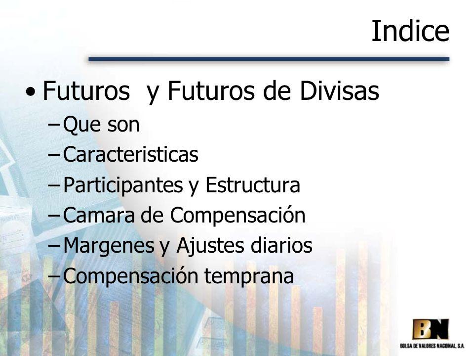 Indice Futuros y Futuros de Divisas Que son Caracteristicas