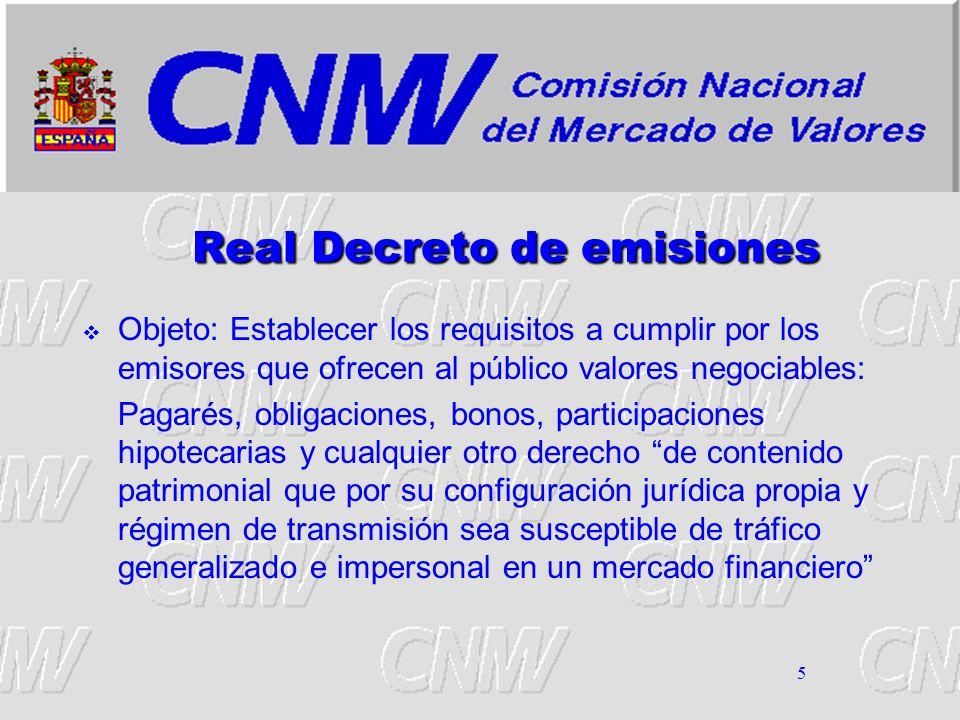 Real Decreto de emisiones