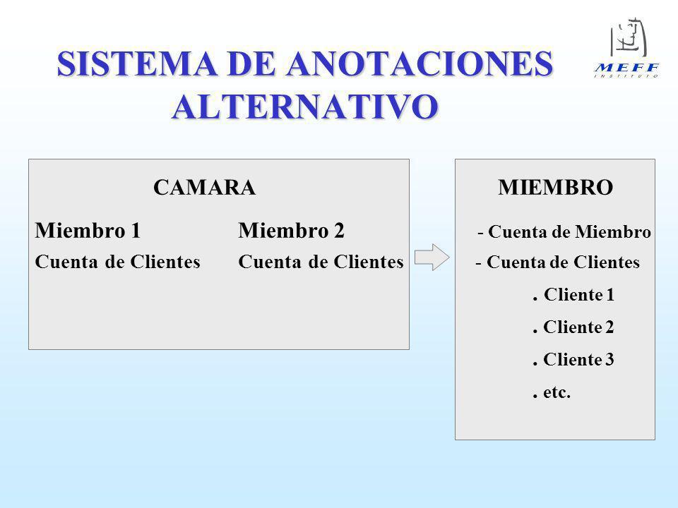 SISTEMA DE ANOTACIONES ALTERNATIVO
