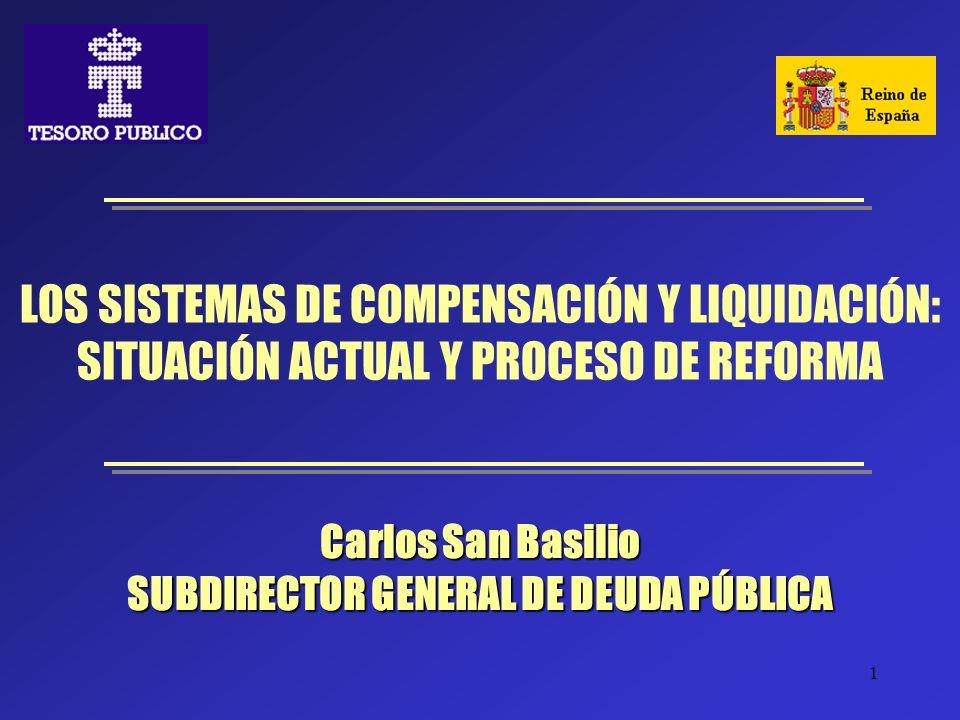 Carlos San Basilio SUBDIRECTOR GENERAL DE DEUDA PÚBLICA
