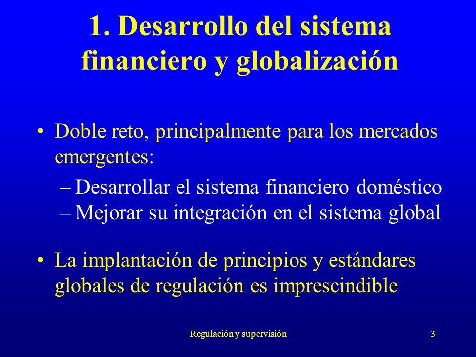1. Desarrollo del sistema financiero y globalización