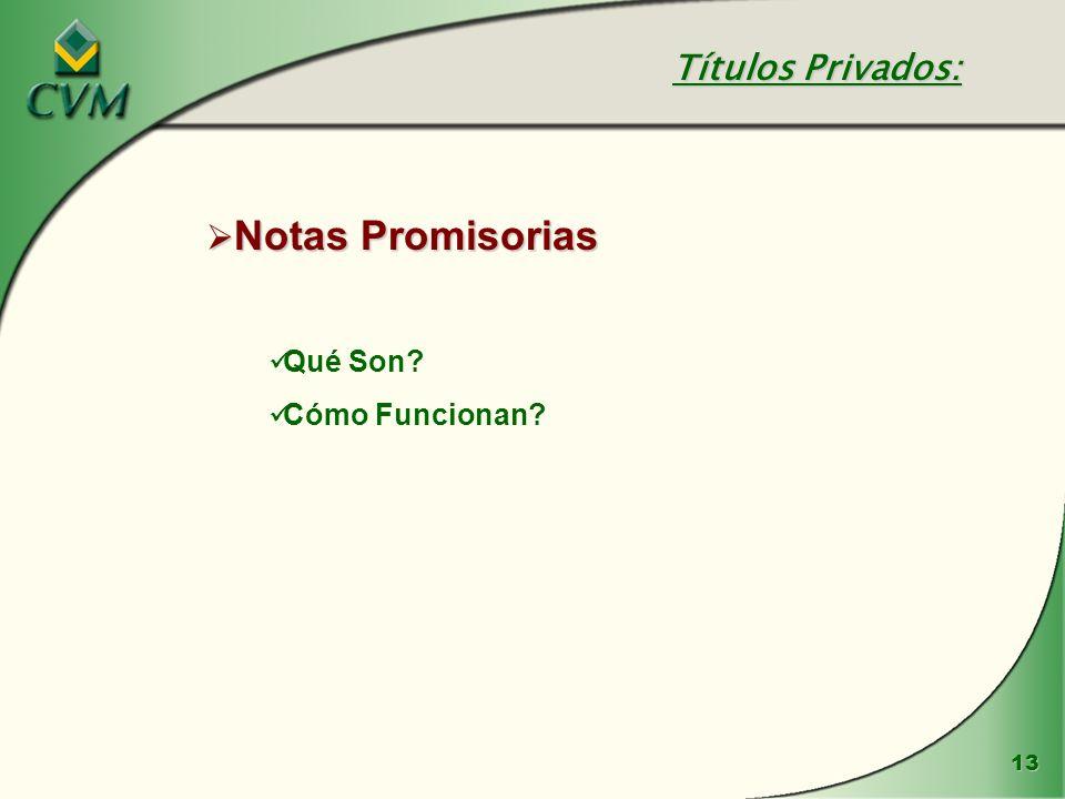 Títulos Privados: Notas Promisorias Qué Son Cómo Funcionan
