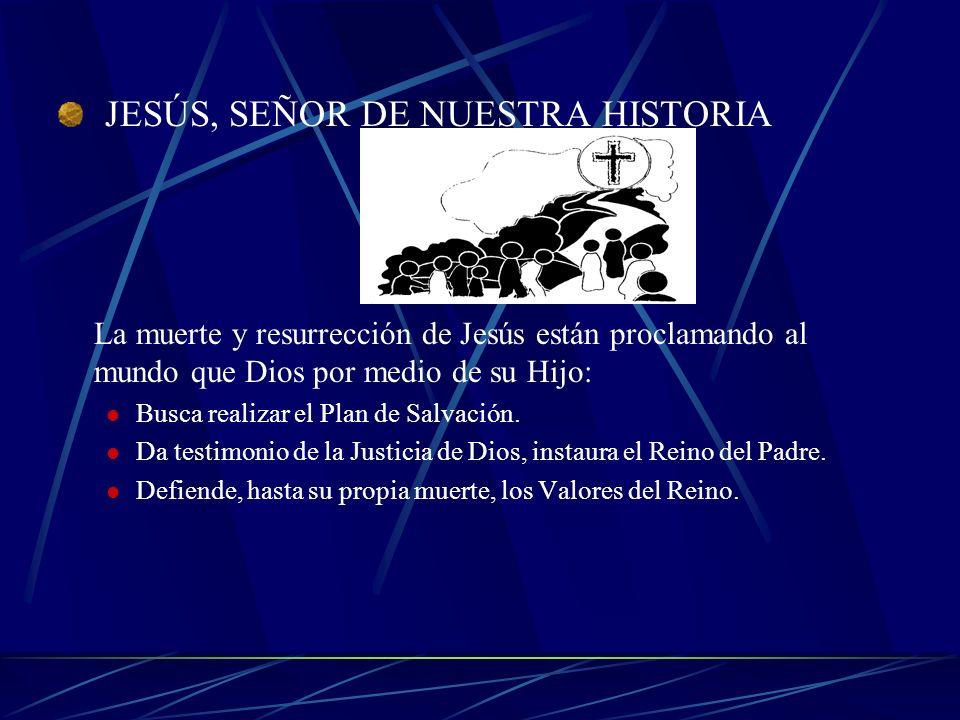 JESÚS, SEÑOR DE NUESTRA HISTORIA