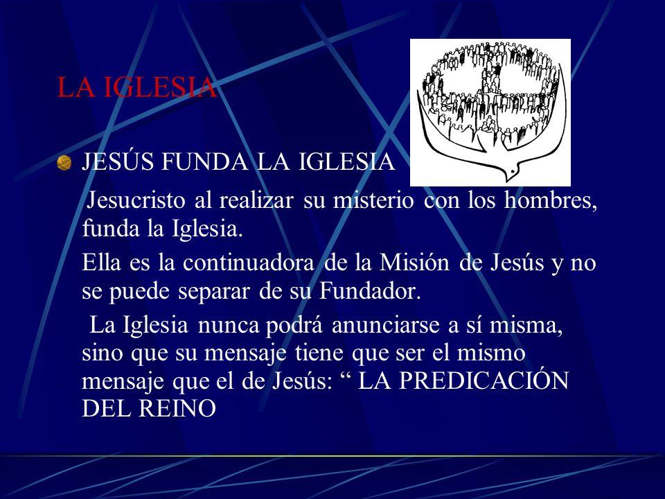 Jesucristo al realizar su misterio con los hombres, funda la Iglesia.