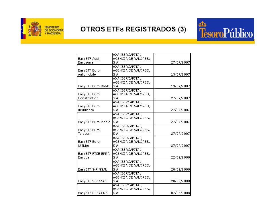 OTROS ETFs REGISTRADOS (3)