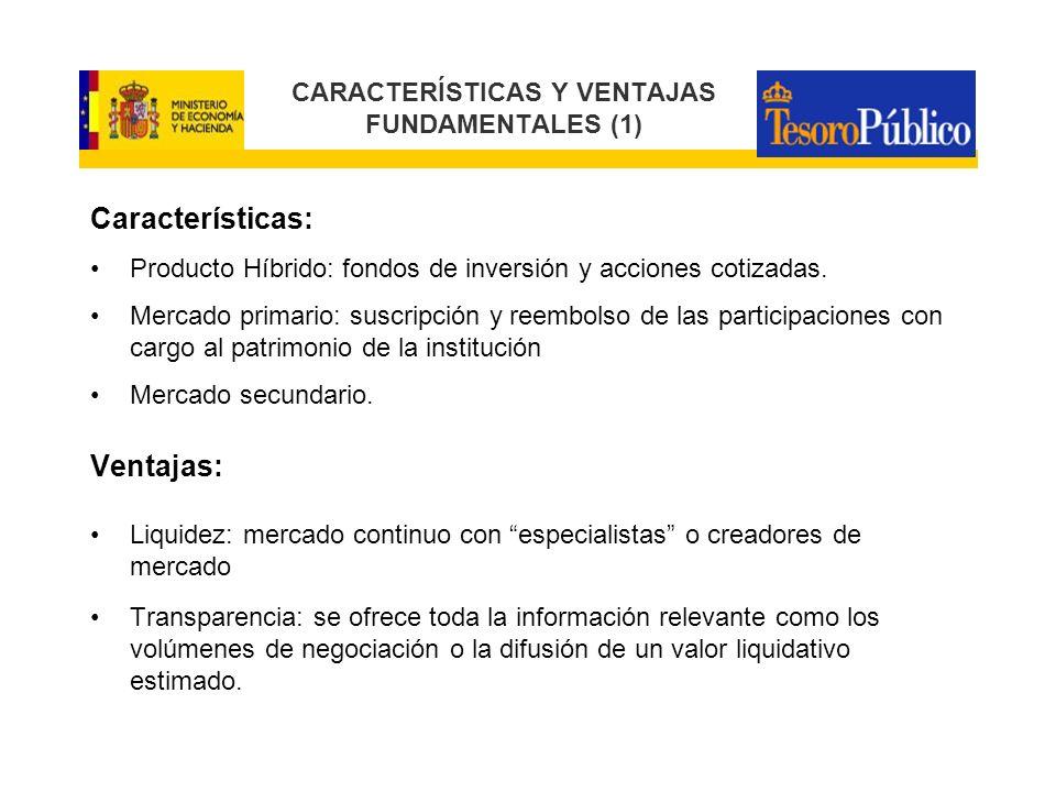 CARACTERÍSTICAS Y VENTAJAS FUNDAMENTALES (1)