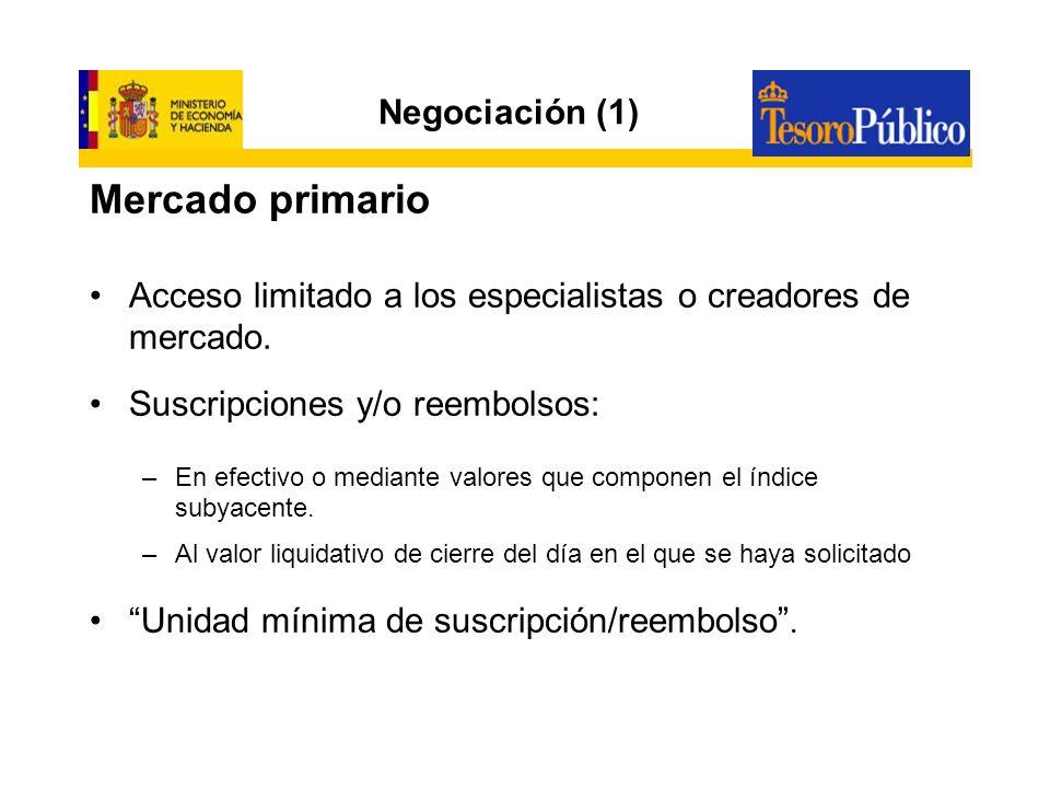 Mercado primario Negociación (1)