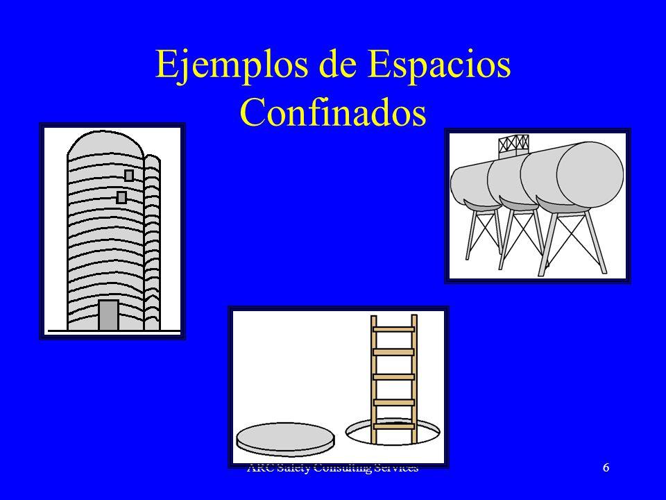 Ejemplos de Espacios Confinados
