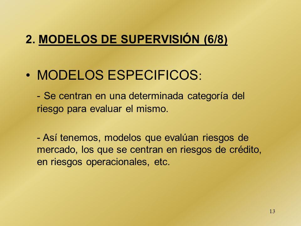 2. MODELOS DE SUPERVISIÓN (6/8)