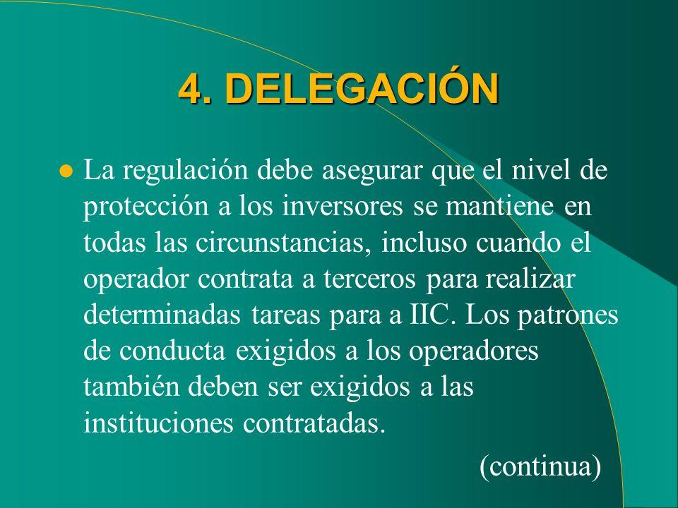 4. DELEGACIÓN