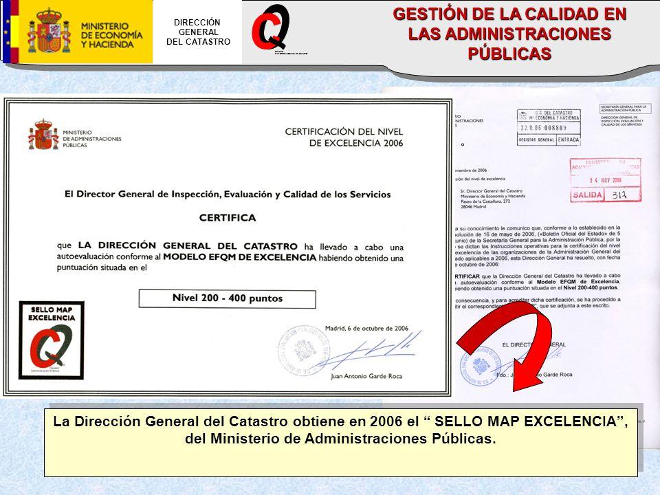 GESTIÓN DE LA CALIDAD EN LAS ADMINISTRACIONES PÚBLICAS