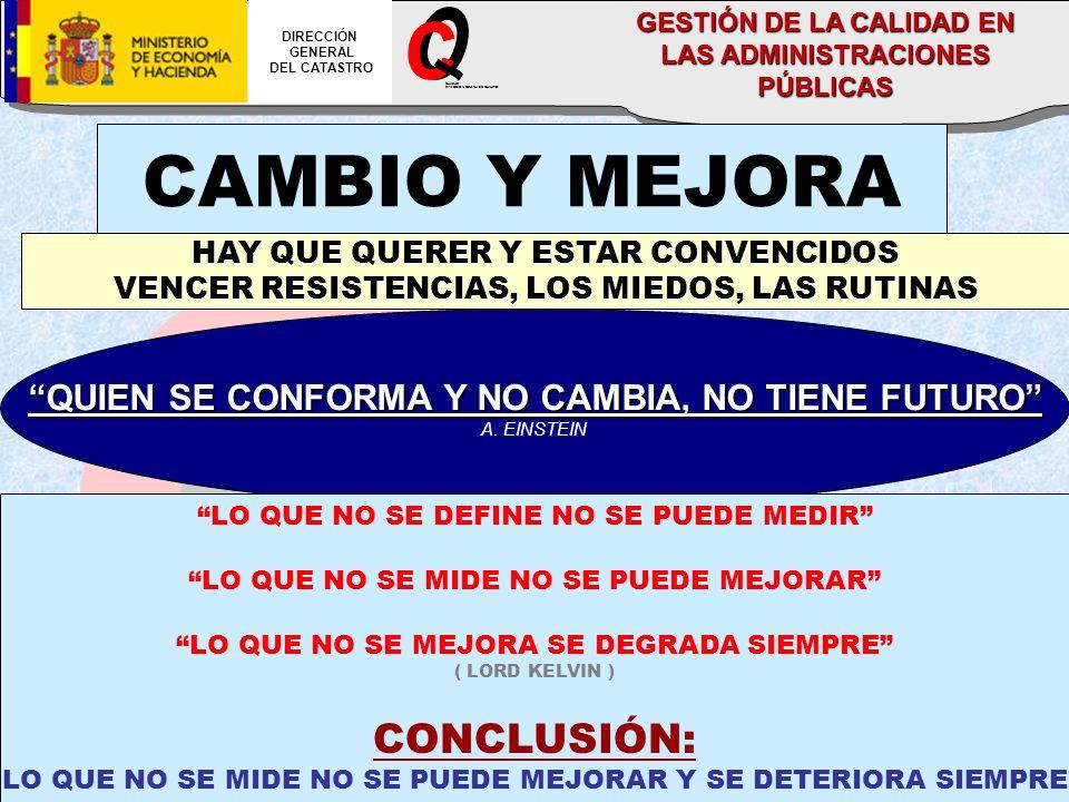 O C CAMBIO Y MEJORA _ CONCLUSIÓN: