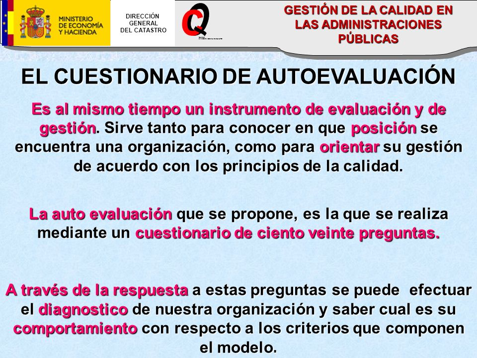 O C _ EL CUESTIONARIO DE AUTOEVALUACIÓN
