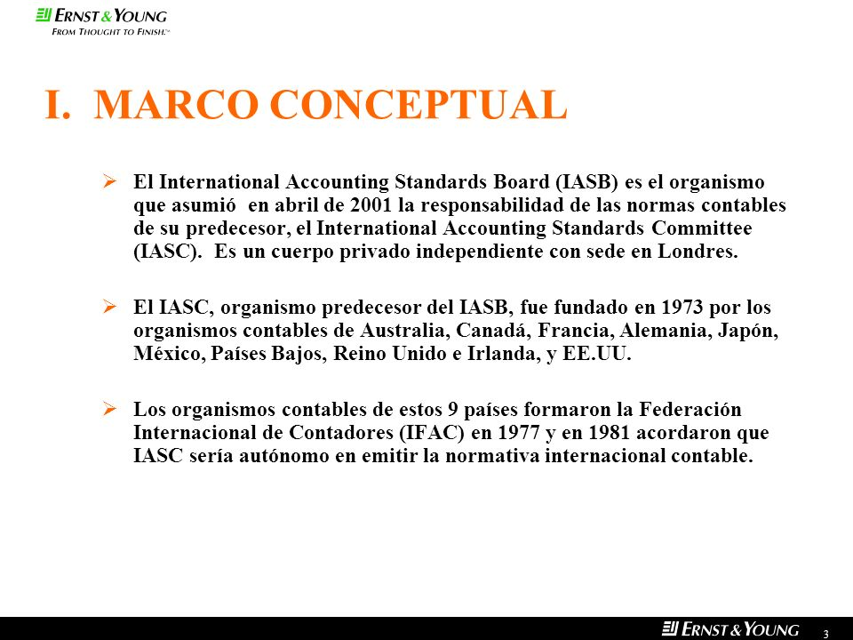 I. MARCO CONCEPTUAL
