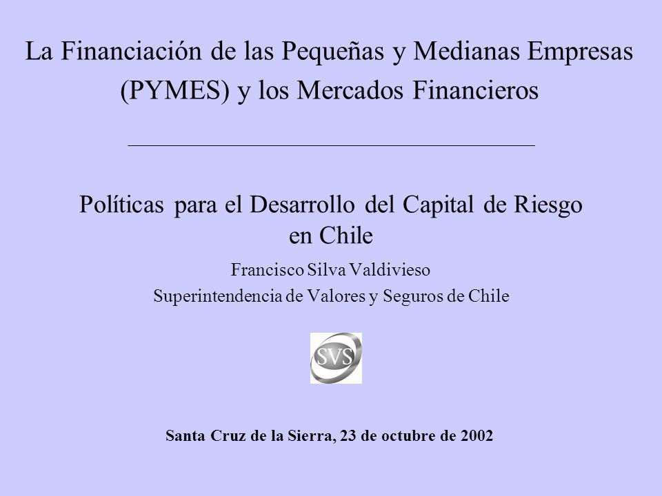 Políticas para el Desarrollo del Capital de Riesgo en Chile