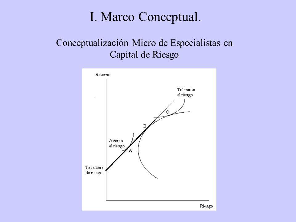 Conceptualización Micro de Especialistas en Capital de Riesgo