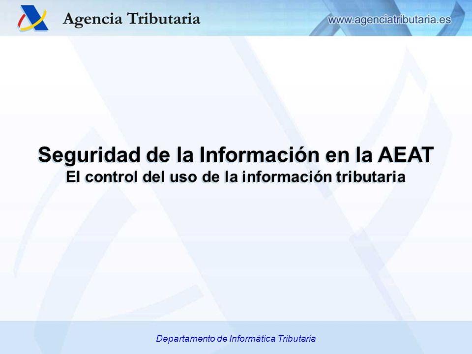 Seguridad de la Información en la AEAT