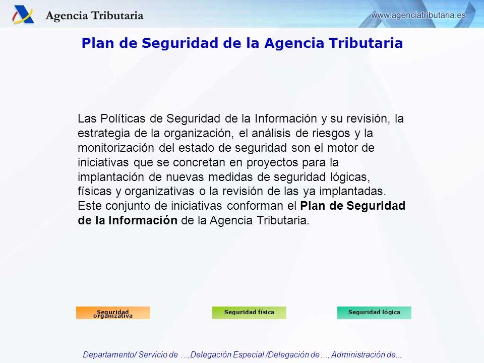 Plan de Seguridad de la Agencia Tributaria