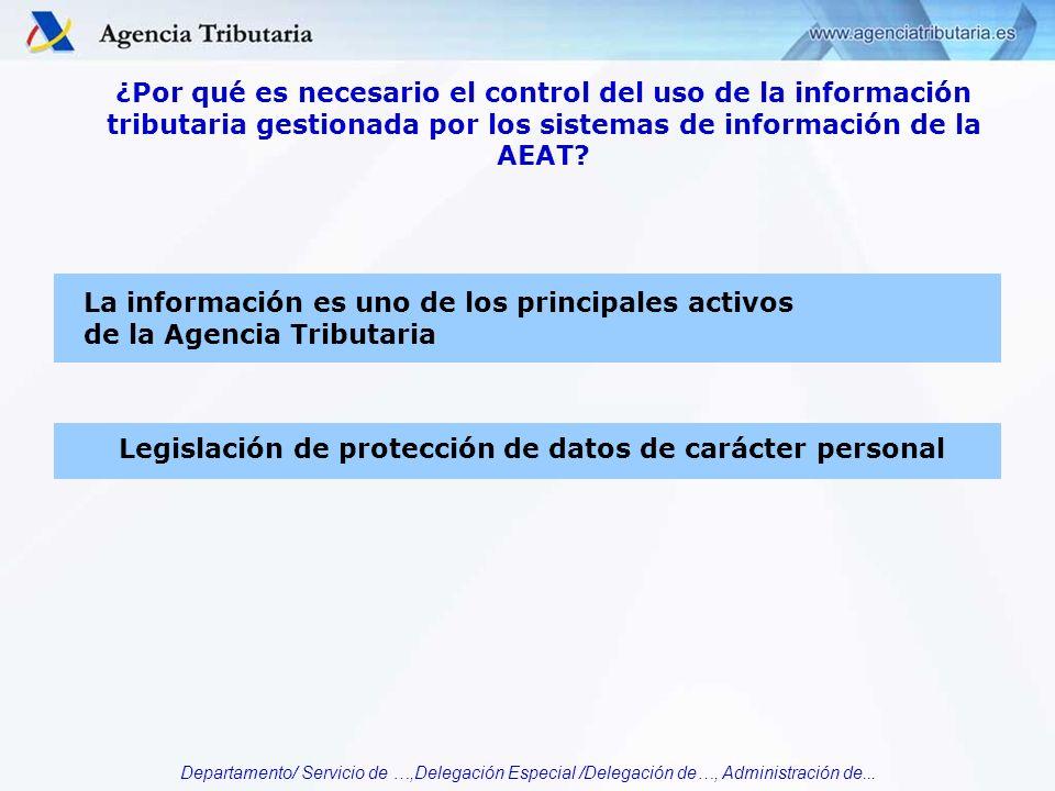 La información es uno de los principales activos
