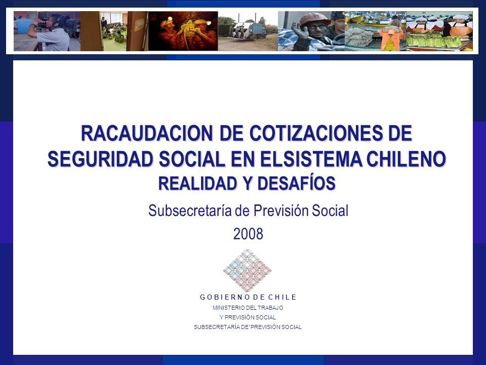 Subsecretaría de Previsión Social 2008