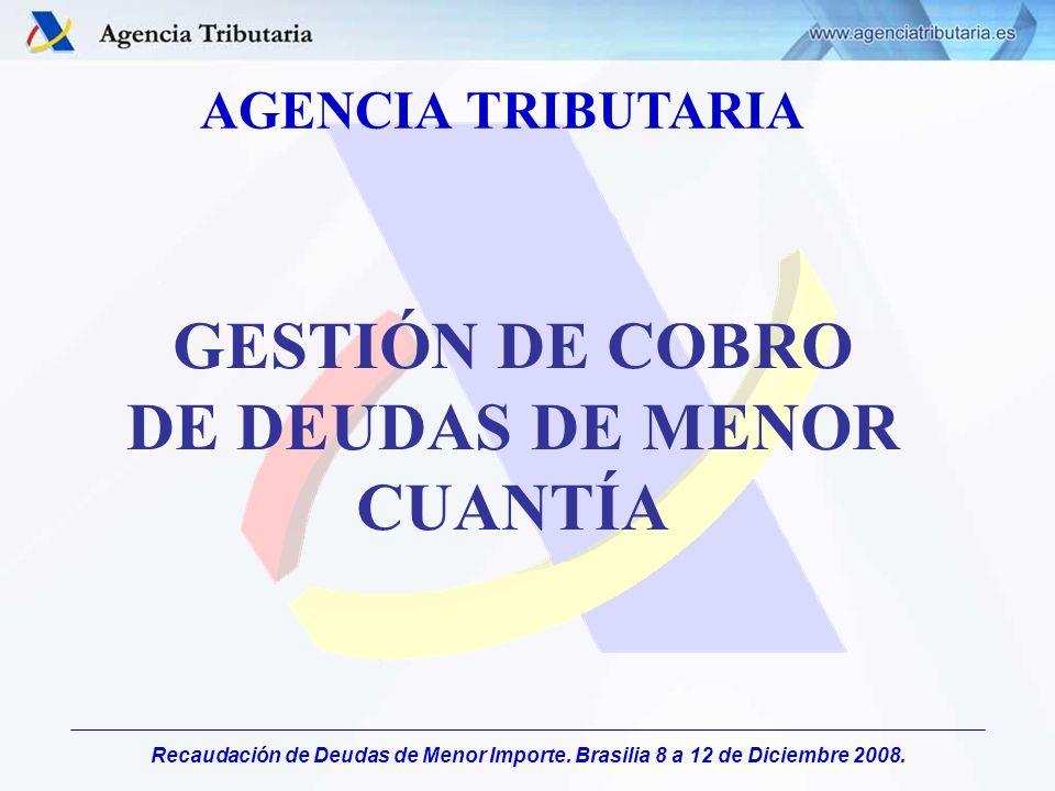 GESTIÓN DE COBRO DE DEUDAS DE MENOR CUANTÍA