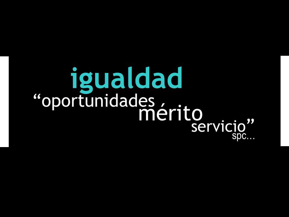 igualdad oportunidades mérito servicio spc…