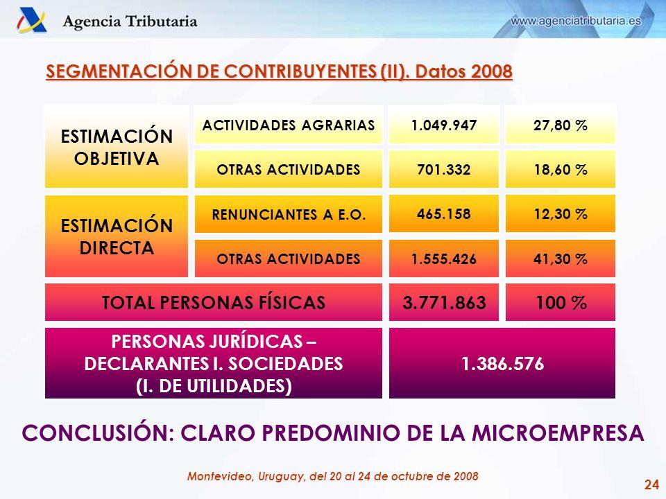 CONCLUSIÓN: CLARO PREDOMINIO DE LA MICROEMPRESA